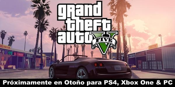 Gta V Anunciado Oficialmente Para Pc Ps4 Y Xbox One Online Games