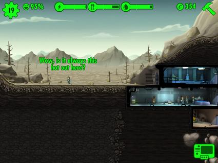 Fallout Shelter Explorar